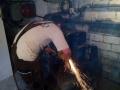 Demontáž-znehodnocení starého kotle na TP